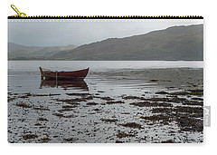 Boat And Seaweed In Isle Of Skye, Uk Carry-all Pouch