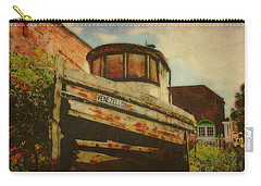Boat At Apalachicola Carry-all Pouch