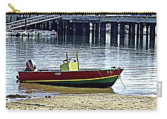Boat At The Beach Provincetown Carry-all Pouch