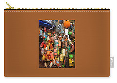 Carry-all Pouch featuring the photograph Crab Pot Buoys by Thom Zehrfeld