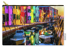 Boat Canal Carry-all Pouch by Gary Grayson
