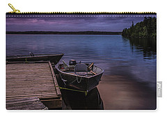 Boat Dock At Sunrise Carry-all Pouch