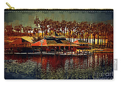 Boat Dock On North Lake Carry-all Pouch