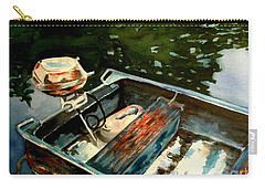 Boat In Fog 2 Carry-all Pouch