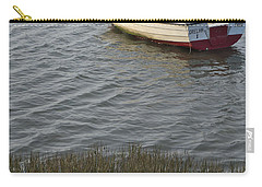 Boat In Ria Formosa - Faro Carry-all Pouch by Angelo DeVal