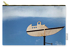 Boat In The Clouds Carry-all Pouch by Sandy Taylor