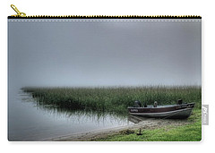Boat In The Fog Carry-all Pouch