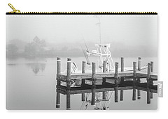 Carry-all Pouch featuring the photograph Boat In The Sounds Alabama  by John McGraw