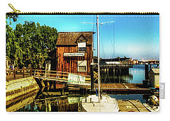 Boat Landing P O C Carry-all Pouch by Joseph Hollingsworth
