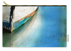 Bow Of An Old Boat Reflecting In Water Carry-all Pouch by Jill Battaglia
