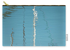 Carry-all Pouch featuring the photograph Boat Of Ripples by Wendy Wilton