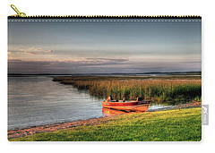 Boat On A Minnesota Lake Carry-all Pouch