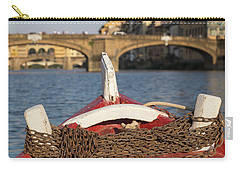 Boat On The Arno River,  Carry-all Pouch