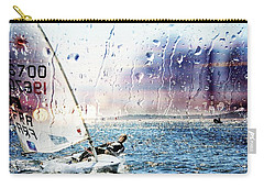 Boat On The Sea Carry-all Pouch