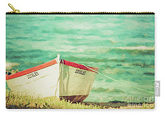 Boat On The Shore Carry-all Pouch