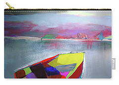 Boat On Whiskey Lake Carry-all Pouch