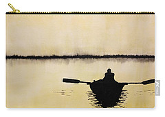 Boat Sunlight  Carry-all Pouch by Edwin Alverio