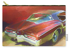Boat Tail Buick Carry-all Pouch