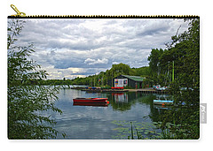 Boathouse Carry-all Pouch by Anne Kotan
