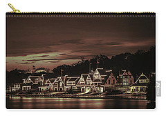 Boathouse Row Philadelphia Pa Night Retro Carry-all Pouch