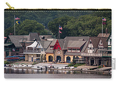 Boathouse Row Philadelphia Pa  Carry-all Pouch by Terry DeLuco