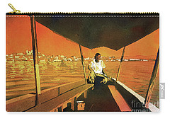 Boatman Guatemala Carry-all Pouch by Ryan Fox