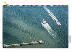 Boats And Jetty - Boston Harbor Carry-all Pouch