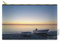 Carry-all Pouch featuring the photograph Boats At A Colorful Bay by Kennerth and Birgitta Kullman