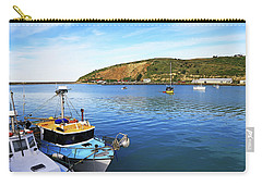 Carry-all Pouch featuring the photograph Boats At Friendly Bay by Nareeta Martin