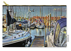 Boats At Kemah Carry-all Pouch