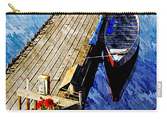 Boats At Rest Carry-all Pouch