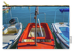 Boats At Rovinj Carry-all Pouch