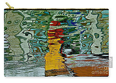 Boats In A Reflection Carry-all Pouch