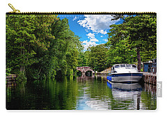 Boats In Norwich Carry-all Pouch