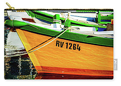 Boats In Rovinj Carry-all Pouch