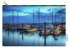 Boats In The Bay Carry-all Pouch