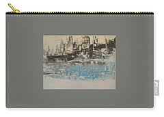 Boats In The Harbour Carry-all Pouch