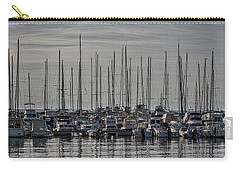 Carry-all Pouch featuring the photograph Boats In The Izola Marina - Slovenia by Stuart Litoff