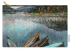 Boats In The Kin Carry-all Pouch