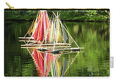 Boats Landscape Carry-all Pouch
