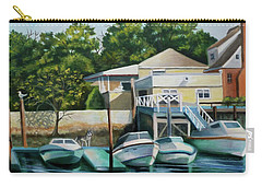 Boats On Crossbay Blvd. Carry-all Pouch