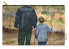 Bob And Alex Carry-all Pouch by Sam Sidders