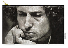 Bob Dylan By Mary Bassett Carry-all Pouch