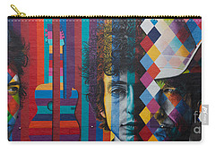 Bob Dylan Mural Minneapolis The Times They Are A Changin Carry-all Pouch