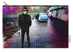 Bob Dylan No Direction Home 1 Carry-all Pouch by Tony Rubino