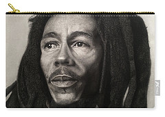 Bob Marley Drawing Carry-all Pouch