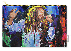 Bob Marley Carry-all Pouch by Richard Day