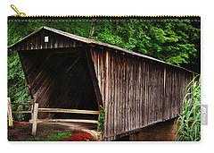 Bob White Bridge Carry-all Pouch by Eric Liller