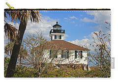 Boca Grande Lighthouse View Two Carry-all Pouch by Rosalie Scanlon