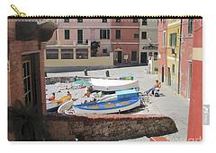 Boccadasse-  Genoa- Harbor Carry-all Pouch